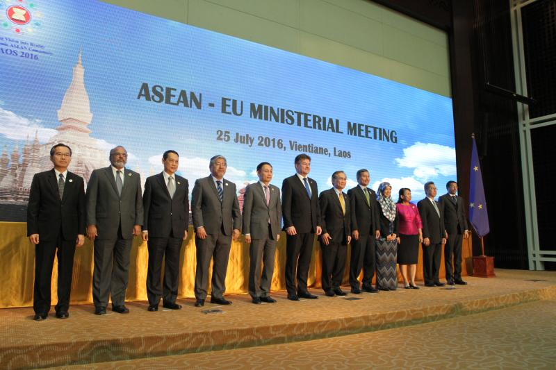 Minister Lajčák in Laos to discuss strategic and security EU-ASEAN cooperation