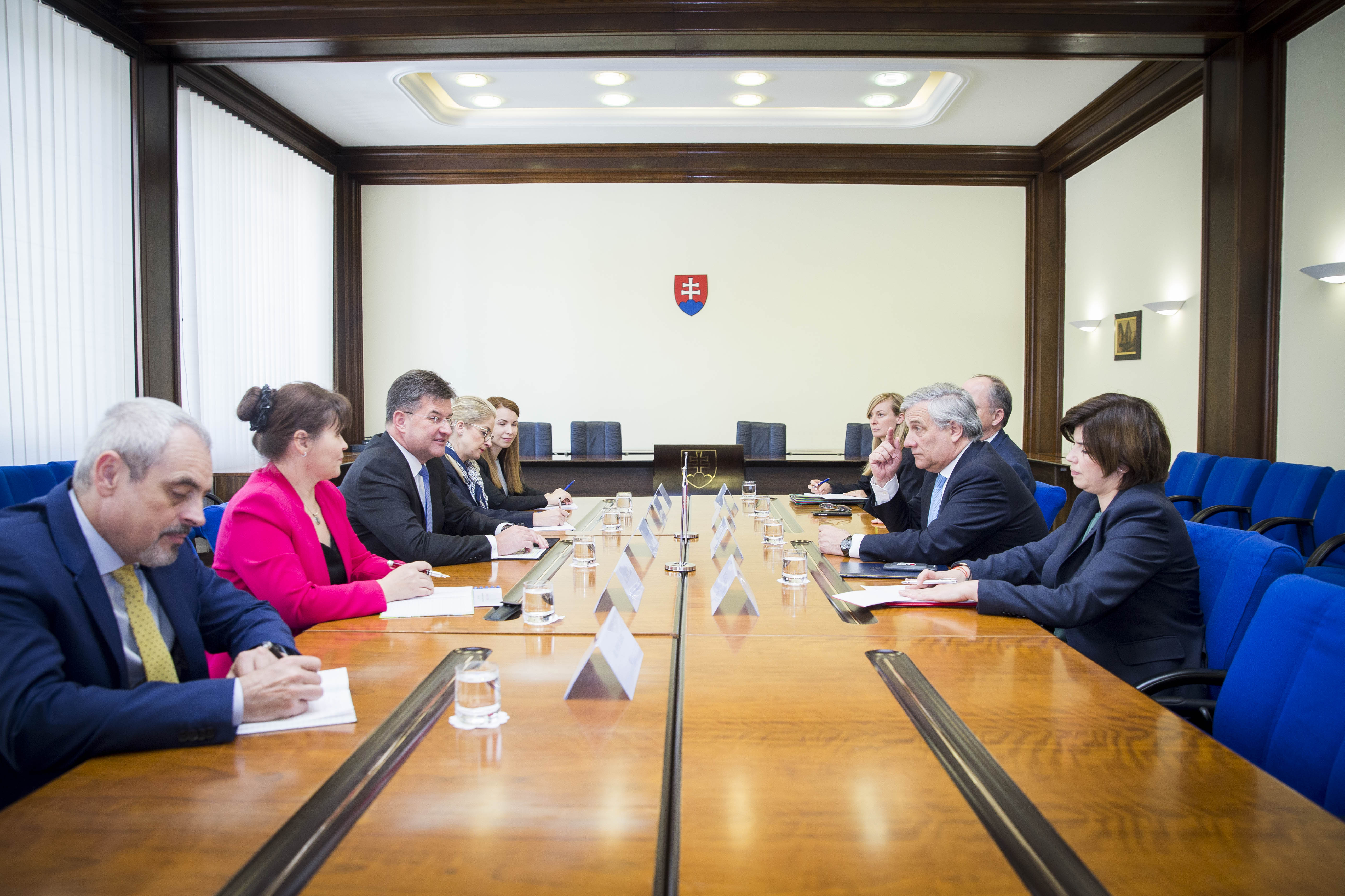 Minister Lajčák and the Speaker of the European Parliament discuss Brexit and the future of the EU