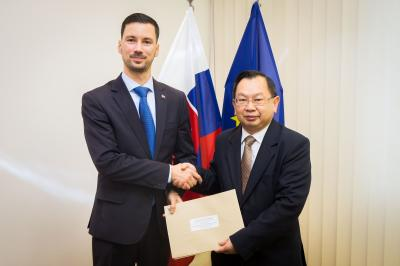 State Secretary Lukáš Parízek with Ambassador-designate of the Kingdom of Thailand