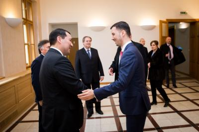 Parízek with ambassadors of Kazakhstan, Kyrgyzstan, Uzbekistan and Turkmenia on more intense dialogue between the Slovak Republic and countries of Central Asia