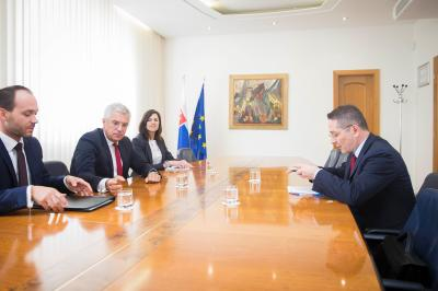 State Secretary Korčok with Ambassador of France on mutual cooperation and current EU topics