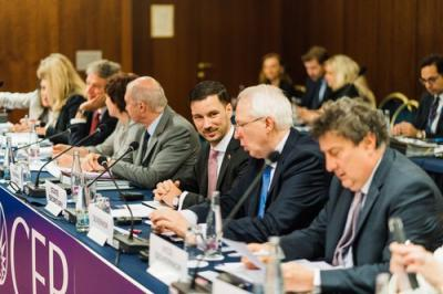 Central European Bank holds meeting in Bratislava today