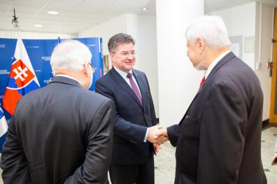 Lajčák Speaks with OSCE Representatives on Developments in the South Caucasus Region