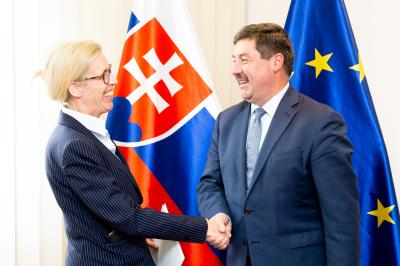 State Secretary of the Ministry of Foreign and European Affairs of the Slovak Republic Ružička receives the Ambassador of the Kingdom of Sweden on the occasion of Presenting Credentials